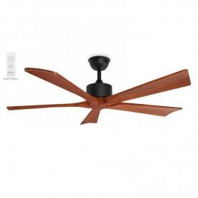 pul liVentilador de techo li liDiametro 132 cm li li5 Palas de madera natural li liSilencioso li li3 velocidades de ventilacion