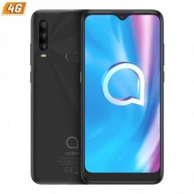 Smartphone móvil alcatel 1se 2020 power grey - 6.22'/15.8cm - oc - 4gb ram - 64gb - cam (13+5+2)/5mpx - android 10 - 4g - dual