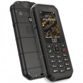 pEl telefono robusto Cat B26 es resistente a las caidas el polvo y el agua y se ha fabricado para resistir entornos exigentesbr